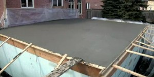 Poured Concrete on Builder Boss episode, the Bunker