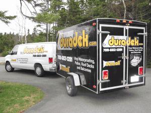 Duradek Van and Trailer