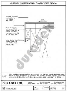 Duradek Ultra CAD Drawing OS-13