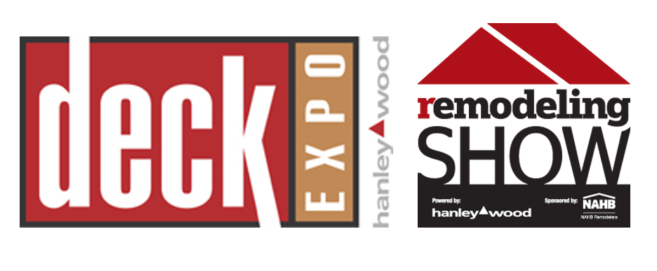 Deck Expo and Remodeling Show Logos