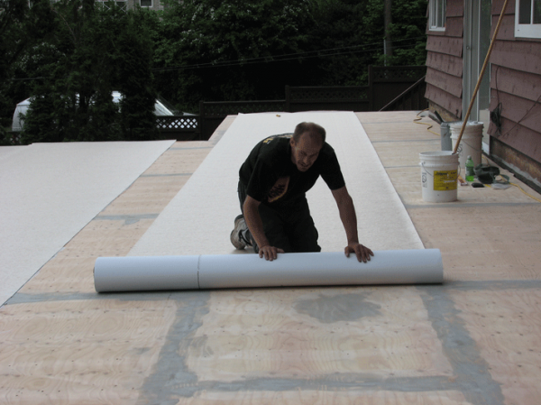 dry below decks made easy part 1 trough vs top duradek. Black Bedroom Furniture Sets. Home Design Ideas