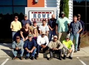Rowe Roofing Team Duradek Training