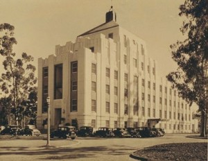 The Hoover Pavilion at Stanford Unitversity when known as the Palo Alto Hospital