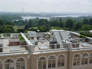 Roof deck by Duradek at EYA's Monument Place