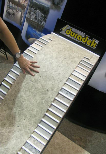 Duradek Vinyl Samples Waterfall