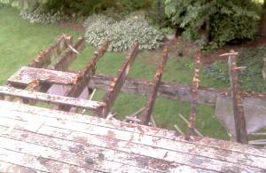 Wood Rot on Pressure Treated Wood Deck