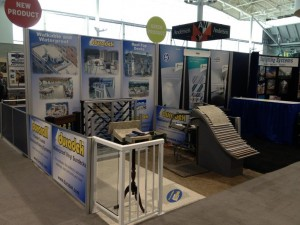 Duradek Booth at ABX