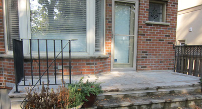porch waterproofed with Tiledek