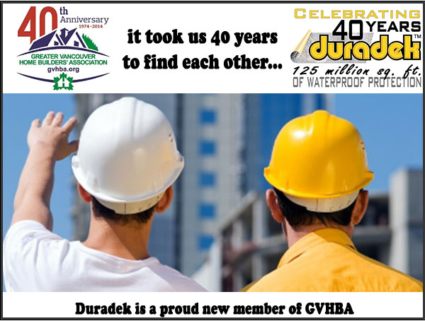 Duradek is proud to be a new member of the GVHBA