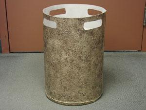 Bucket made with Duradek Cork Macchiato by Trevor at Full Deck Restorations