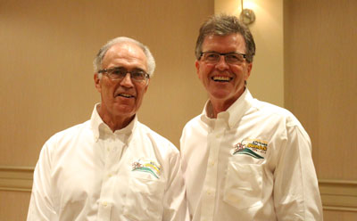 Duradek owners Bob and John Ogilvie were proud to host Duradek's 40th Anniversary event