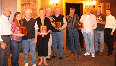 "Duradek's ""Over 10 Years of Support"" Awards"