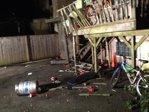 Deck Collapse in Halifax - Image from CBC News