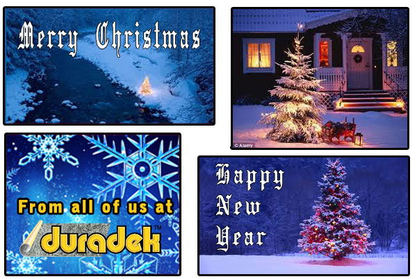 Merry Christmas and Happy New Year from Duradek