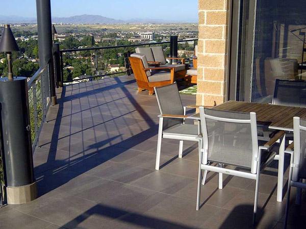Tile Roof Deck Waterproofed With Tiledek