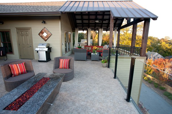 Duradek is the foundation of enjoyable outdoor living space.