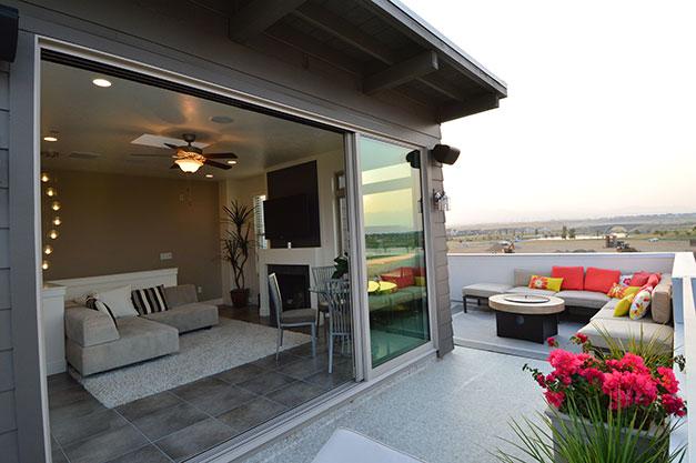 Roof deck by Duradek of Utah