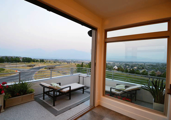 View from Roofdeck in Utah